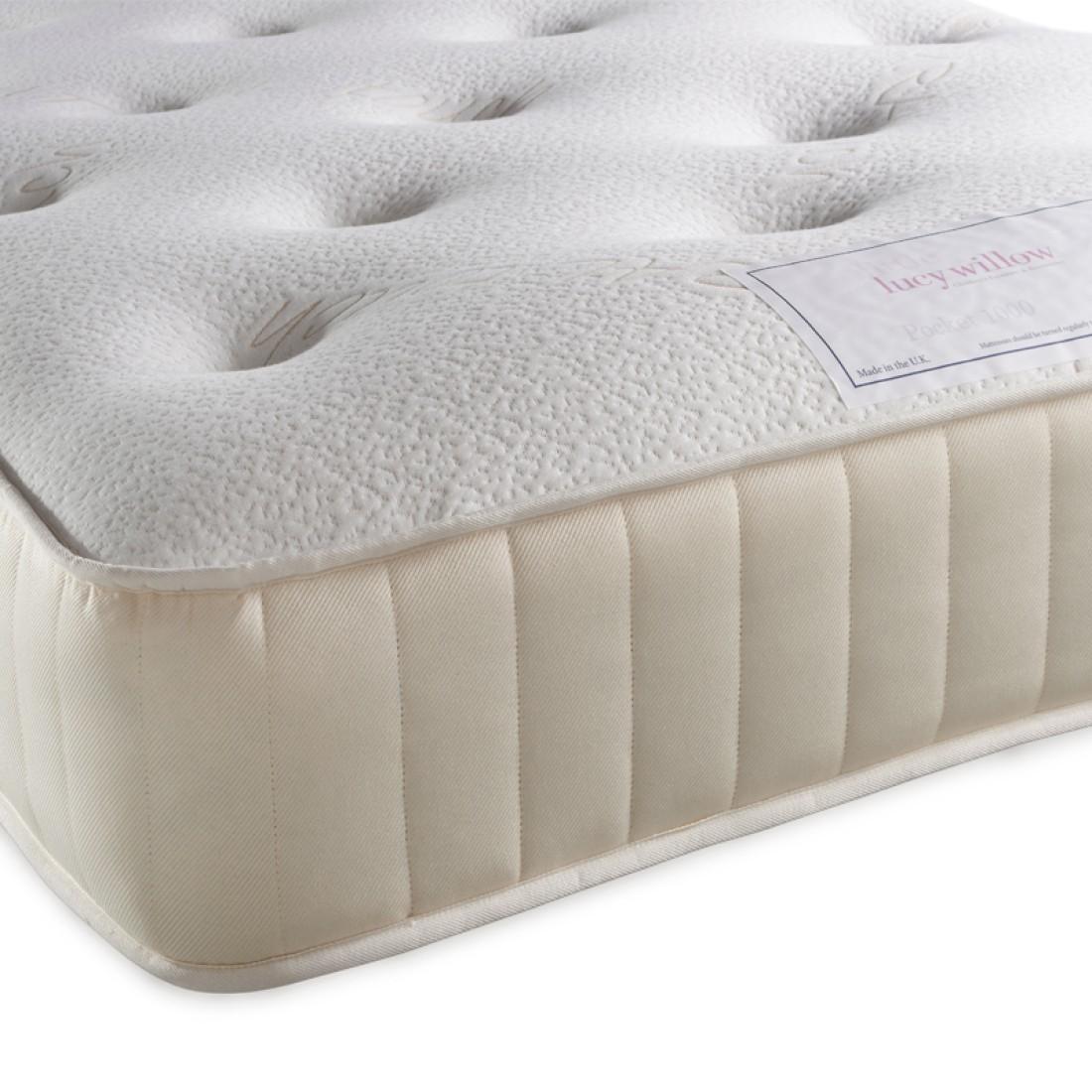 3ft single luxury pocket sprung mattress. Black Bedroom Furniture Sets. Home Design Ideas
