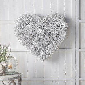 Double Layer Twig Heart