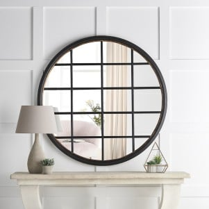 Camden Round Window Mirror
