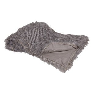 Softly Speckled Faux Fur Throw