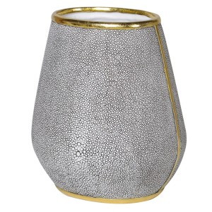 Large Grey Dry Flower Vase
