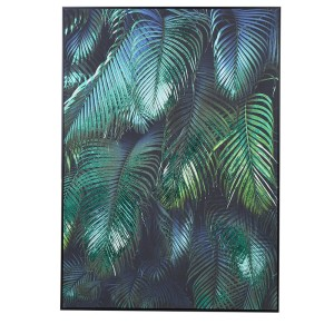 Green and Blue Tropical Leaves Picture