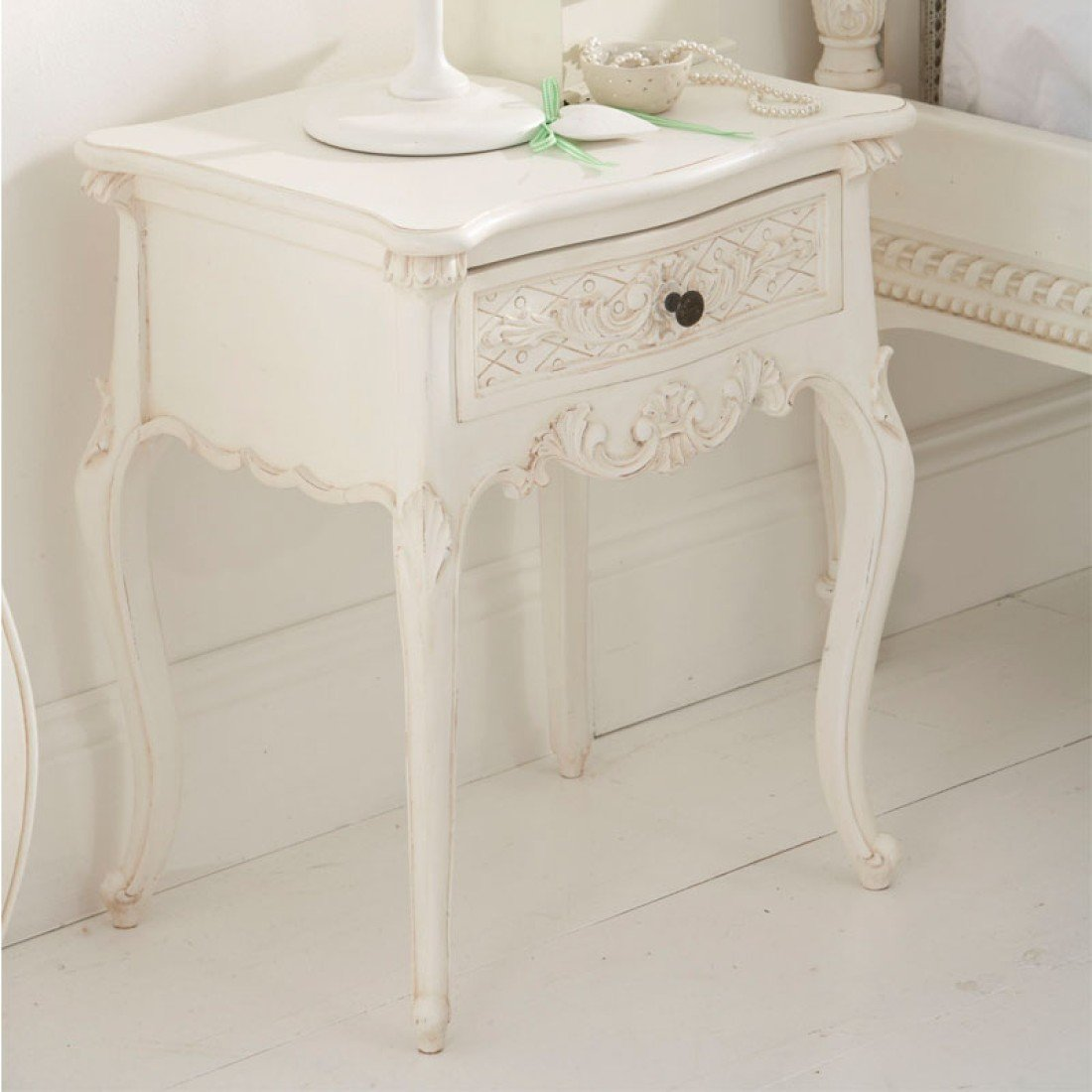 Hearts And Stars Kitchen Collection Bedside Table One Drawer Bedside Tables French Bedroom