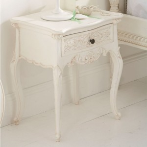 Chateau One Drawer Bedside Table