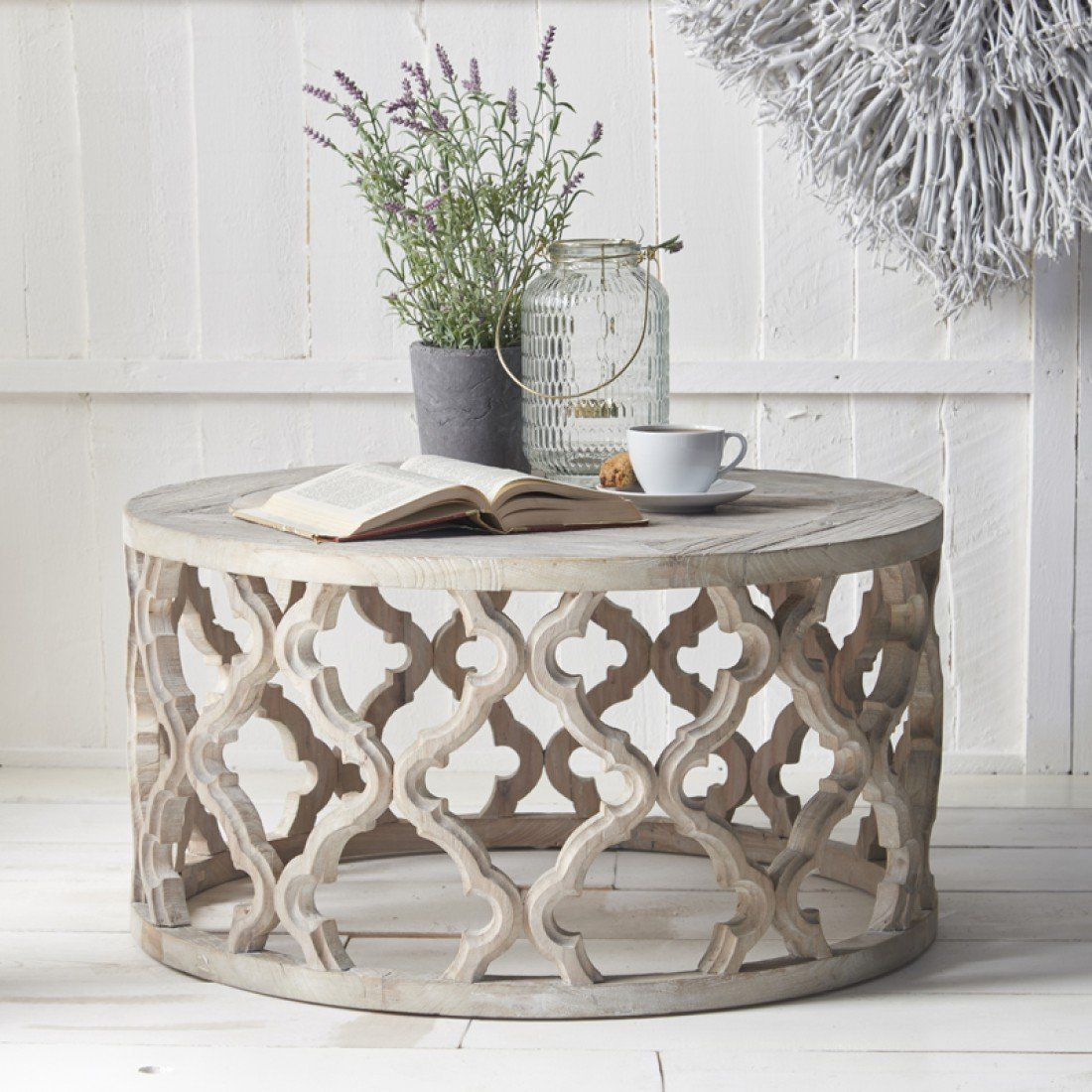 Fretwork Coffee Table.Round Fretwork Coffee Table Coffee Tables