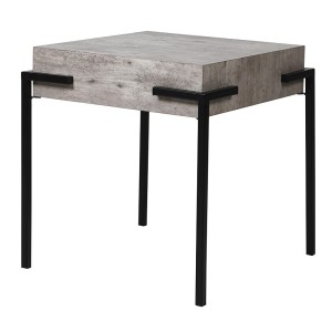 Concrete Effect Side Table