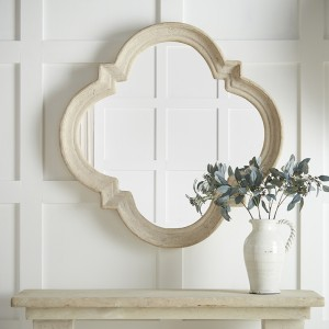 Roman Stone effect Shaped Mirror