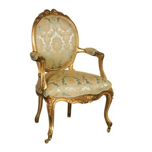 Keswick Ribbon Upholstered Armchair
