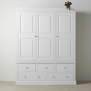 Dovecot 3 Door 5 Drawer Wardrobe