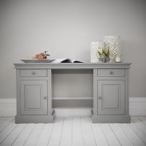 Dovecot Double Pedestal Desk