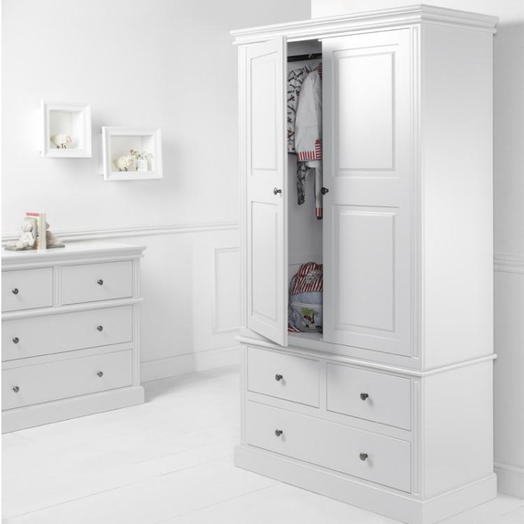 Dovecot 2 Door 3 Drawer Wardrobe