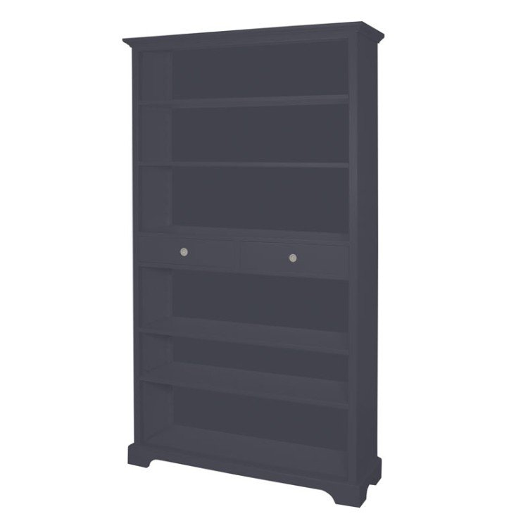 Dovecot 2 Drawer Bookcase