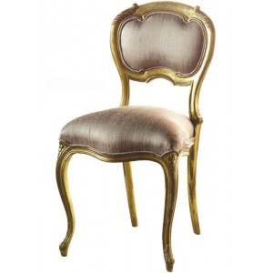 Keswick Oval Silk Bedroom Chair