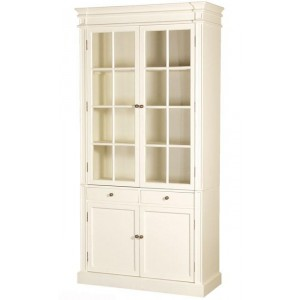 Prestbury Glazed Bookcase